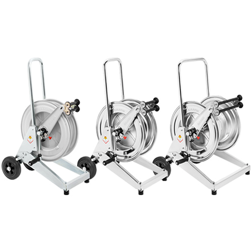 Trolley mounted manual hose reels - s. 530-540-560
