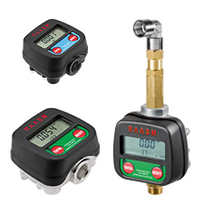 Oil and windshield washing liquid digital meters