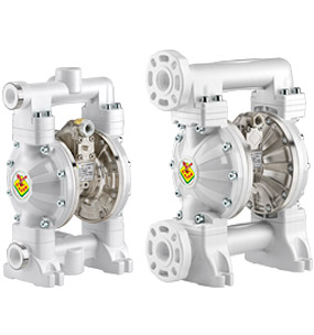 Diaphragm pumps - in polypropylene and aluminum