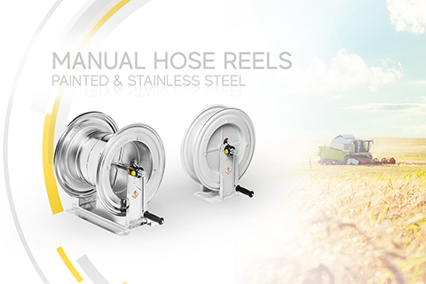 MANUAL HOSE REELS: EFFICIENCY AND SAFETY