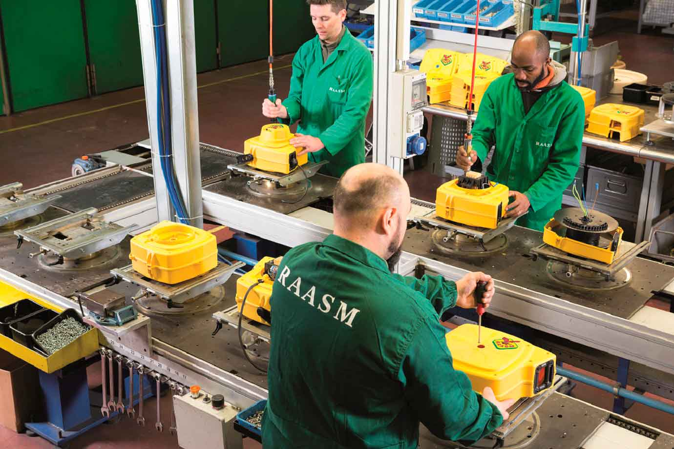 RAASM NEW ELECTRIC CABLE REELS