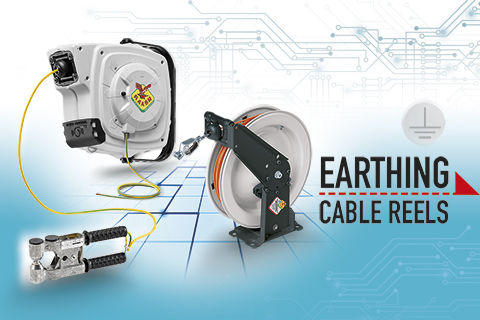 THE CABLE REEL IS ALSO FOR EARTHING