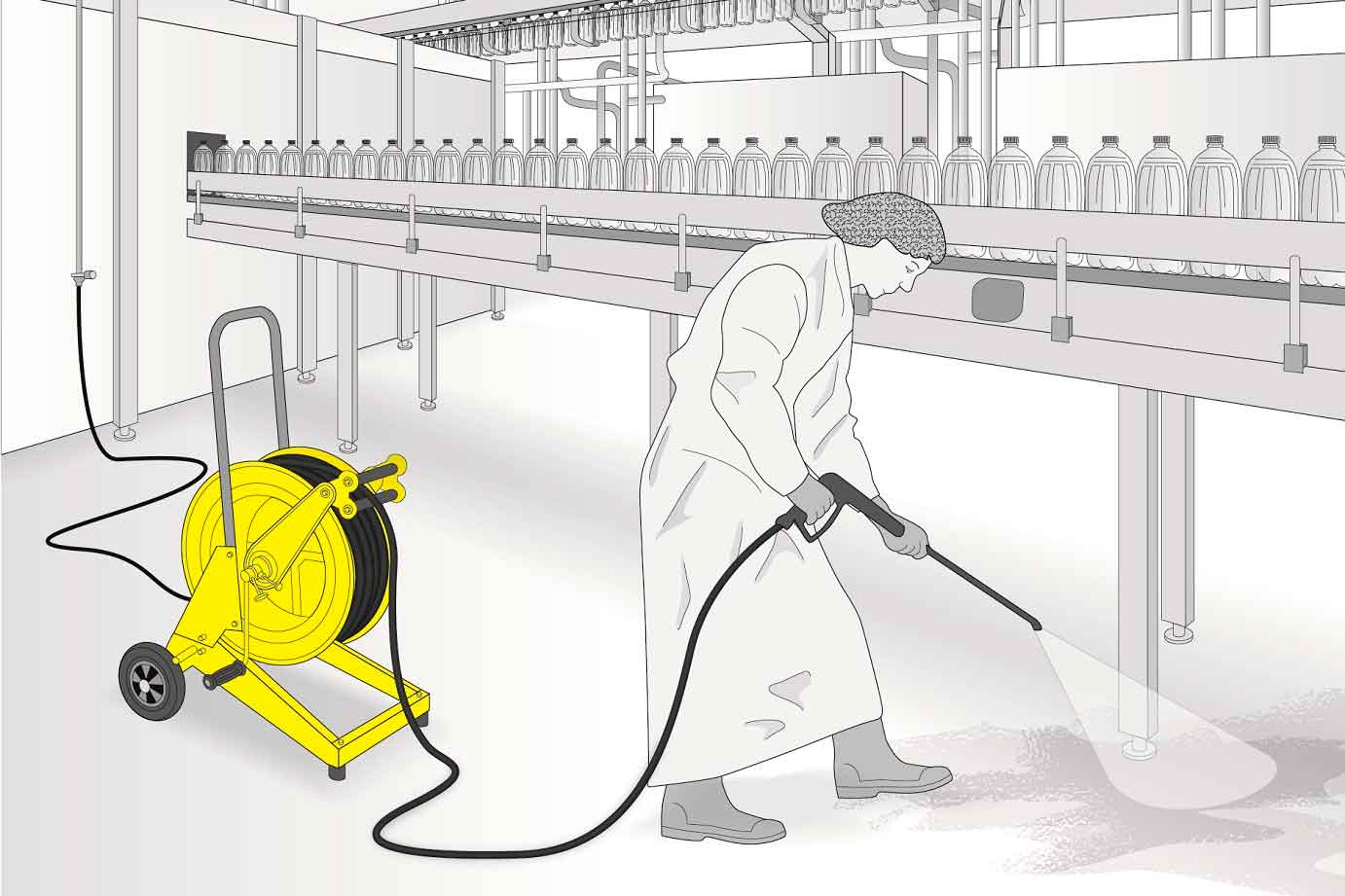 STOP&GO: OUR NEW TROLLEY-MOUNTED HOSE REELS
