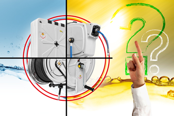 TRY OUR HOSE REEL CONFIGURATOR
