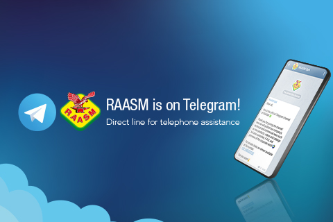 RAASM HA UN CANALE TELEGRAM!
