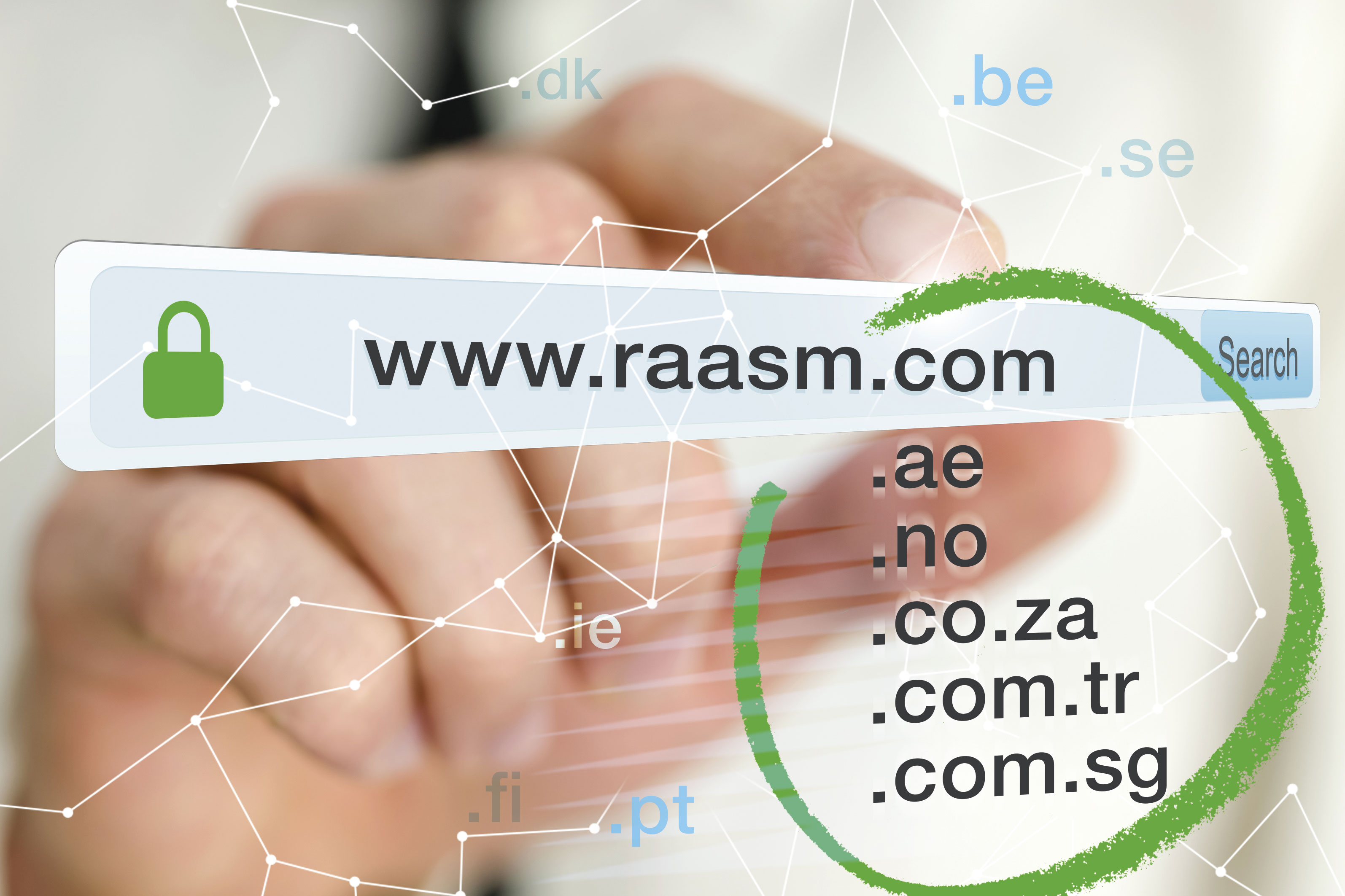 NEW DOMAINS FOR THE RAASM INTERNET SITE