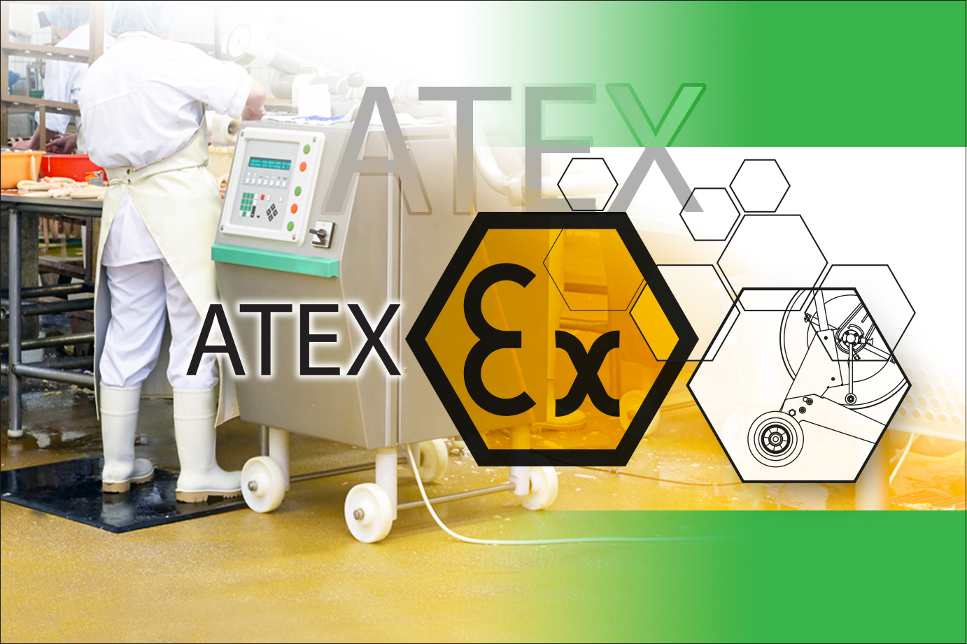 ANTISTATIC ATEX HYGIENIC WHEELS