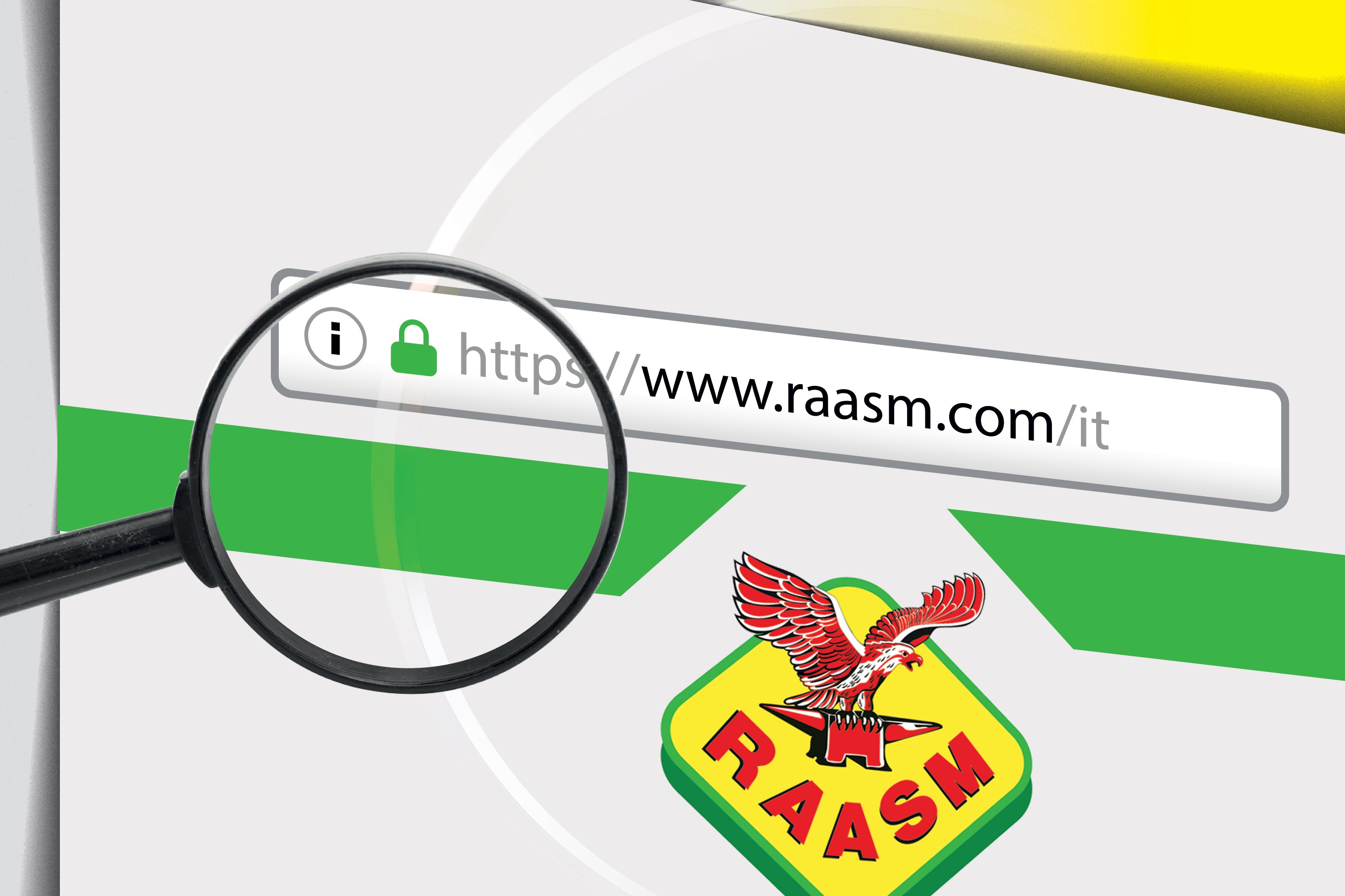SAFELY SURFING ON THE NEW RAASM WEBSITE