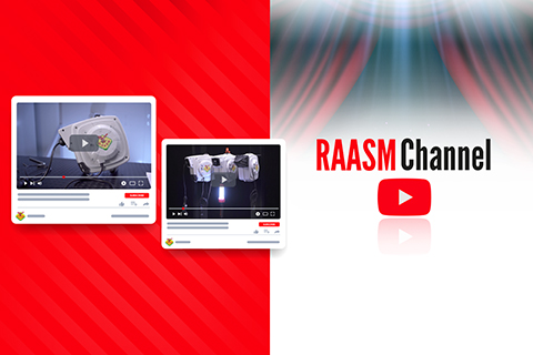 NEW VIDEOS FOR RAASM ELECTRIC CABLE REELS